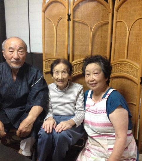 インタビュー 窪田八千代さん、弘さん、勝美さん