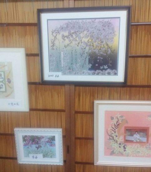 個展 窪田さん家族展とポッポ苑、日野学園の作品展示