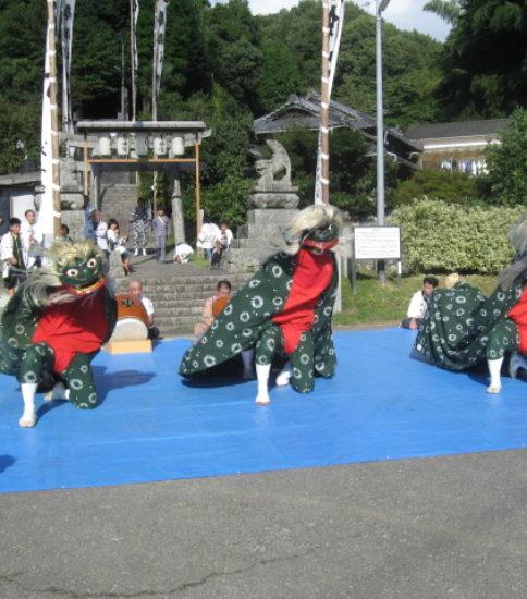 五明地域の地方祭