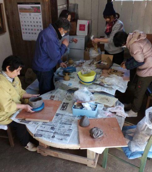 陶芸講座改め「陶芸の集い」