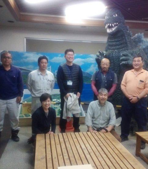 「瀬戸内海の風景絵画」 野外活動センターに展示させていただきました