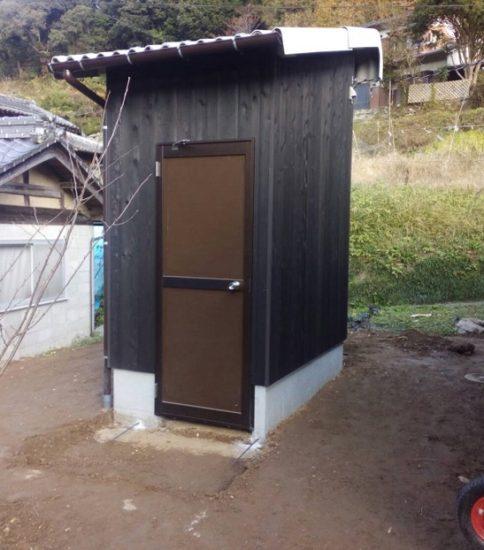 トイレ設置