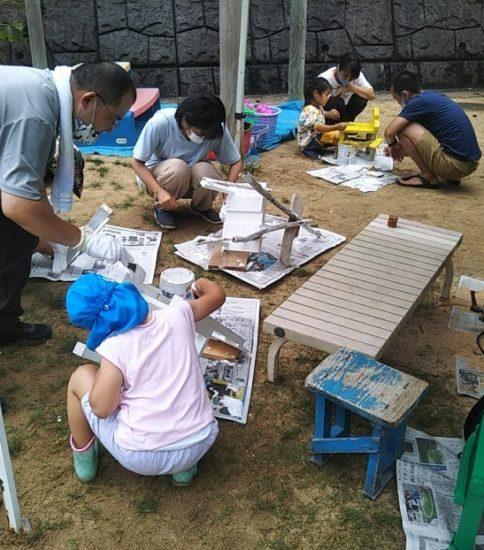 五明幼稚園 親子木工教室